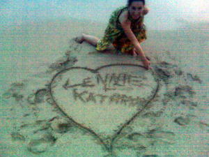 Heart in sand Date #1 (2)